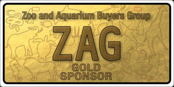 ZAG Gold Sponsor plate