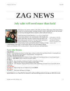 ZAG News July 2019