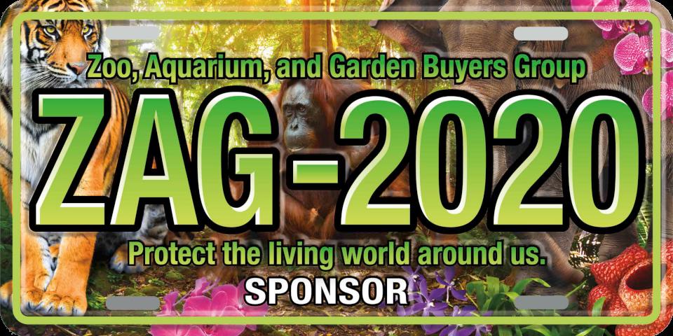 ZAG 2020 Sponsor plate