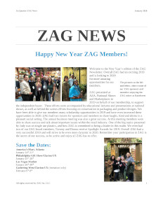 ZAG News January 2020